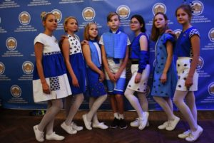 Детская школа шитья и дизайна названа «Образцовым коллективом Санкт-Петербурга»