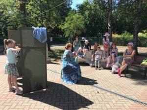Музей «Сарай» приглашает на детскую темитическую прогулку и кукольный спектакль