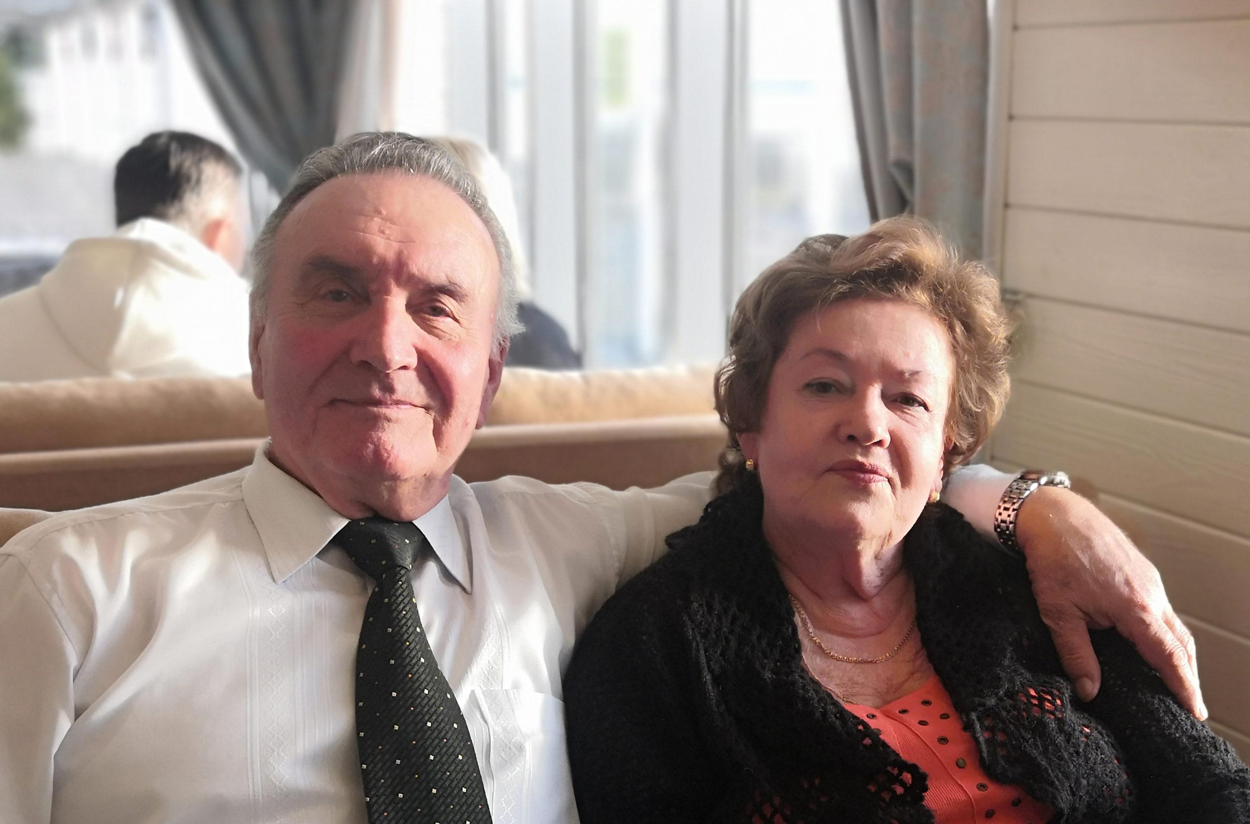 60 лет вместе Ирина и Георгий Куц