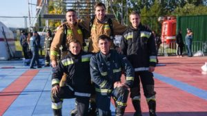 Команда Кронштадта стала призером соревнований «Сильнейший пожарный»