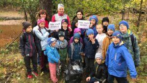 Воспитанники ДДТ «На реке Сестре» приняли участие в акции «Чистый город, чистый берег»