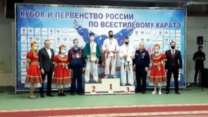 Победителем первенства по каратэ стал воспитанник кронштадтского клуба