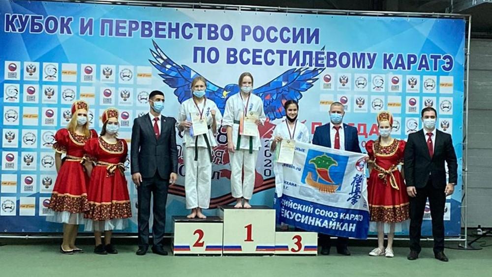Елизавета Штанухина, спортсменка из Зеленогорска стала победителем первенства по каратэ
