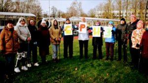 Кронштадтская команда стала победителем соревнований по фоновой ходьбе «Человек идущий»