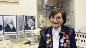 Почетный житель Кронштадта Майя Александровна Шлендова