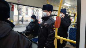В Кронштадте начались проверки по соблюдению масочного режима
