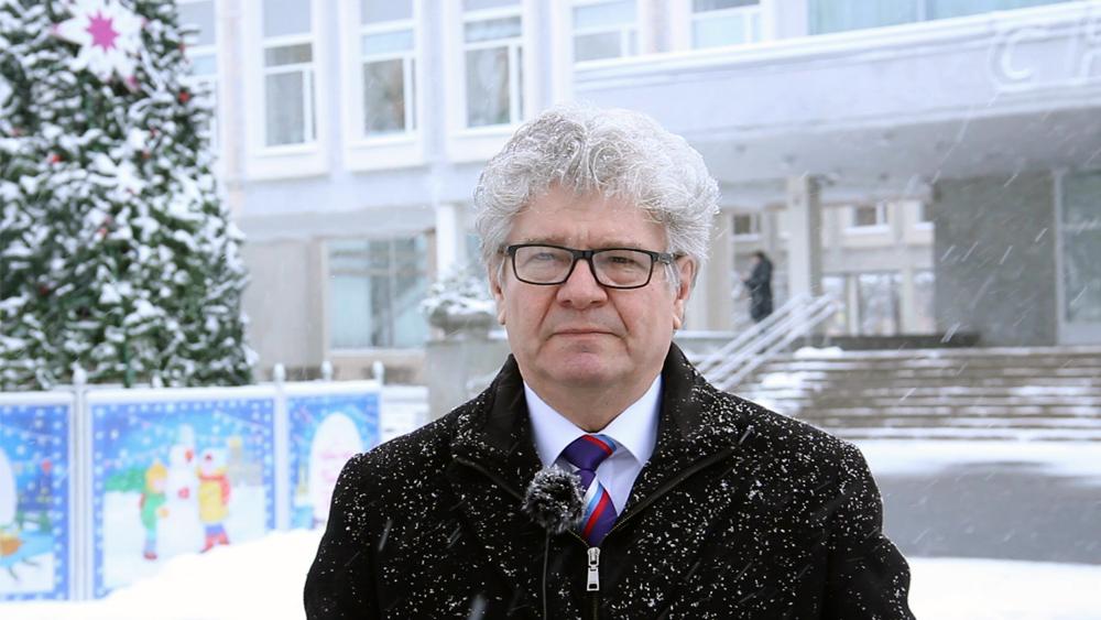 Новогоднее поздравление 2021 | Александр Ваймер, депутат Законодательного Собрания Санкт-Петербурга