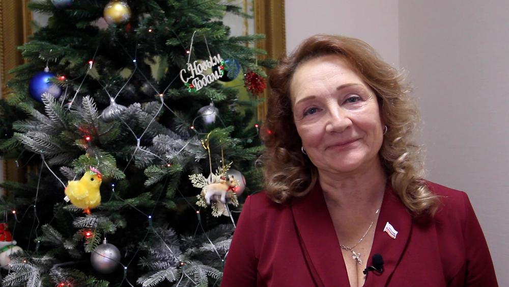 Новогоднее поздравление 2021 Наталия Чашина