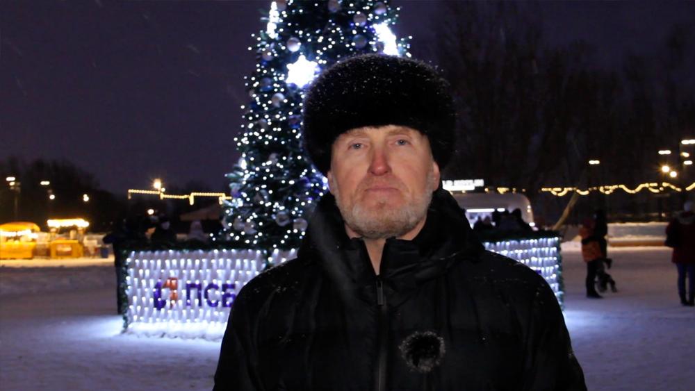 Олег Довганюк. Новогоднее поздравление 2021