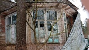 Исторические дачи в Сестрорецке под угрозой разрушения