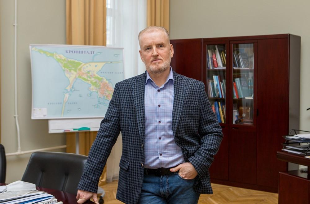 Интервью Главы Кронштадтского района Олега Довганюка