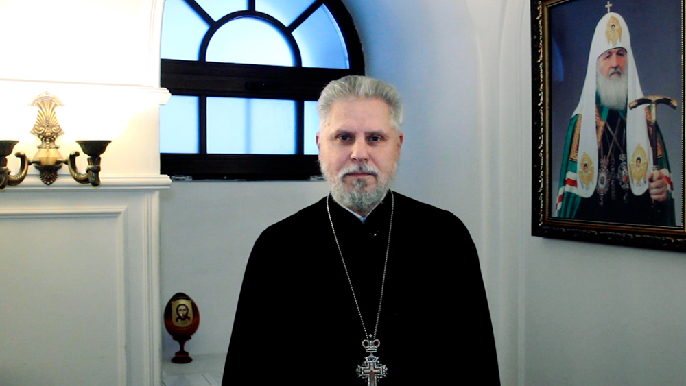 Поздравление с Рождеством | Михаил Петропавловский, настоятель Храма Петра и Павла