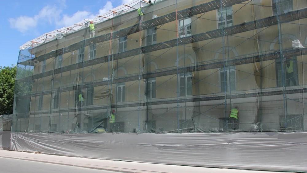 В минувшем году Фонд капитального ремонта отремонтировал 30 фасадов в Кронштадте