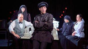 Театр Балтийского флота приглашает на комедию-боевик по пьесе А. Островского