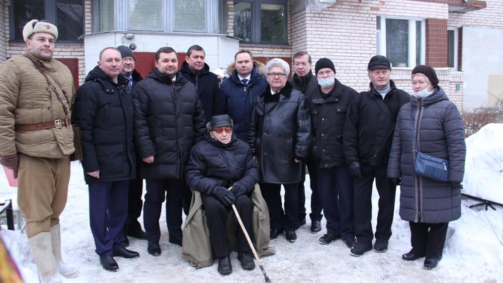 Валентину Рослякову, легенде Сестрорецка, исполнилось 105 лет
