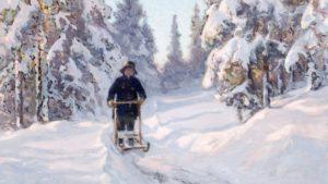 «Зимние забавы» - всe о финских санях в Курортном районе