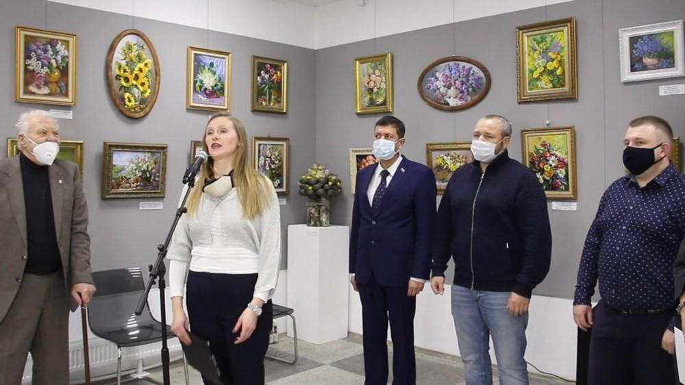 Открылась выставка картин Бориса Безденежных в «Арт-Курорте»