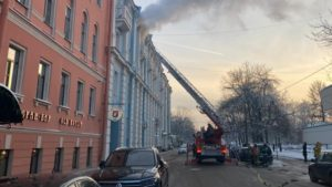Трагедия при пожаре в Кронштадте