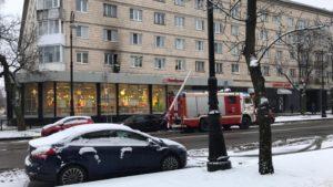 В январе на территории Кронштадта произошло семь пожаров