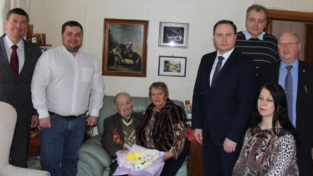 Алексей Евстафьев. Ветерану «Дороги жизни» исполнилось 100 ле