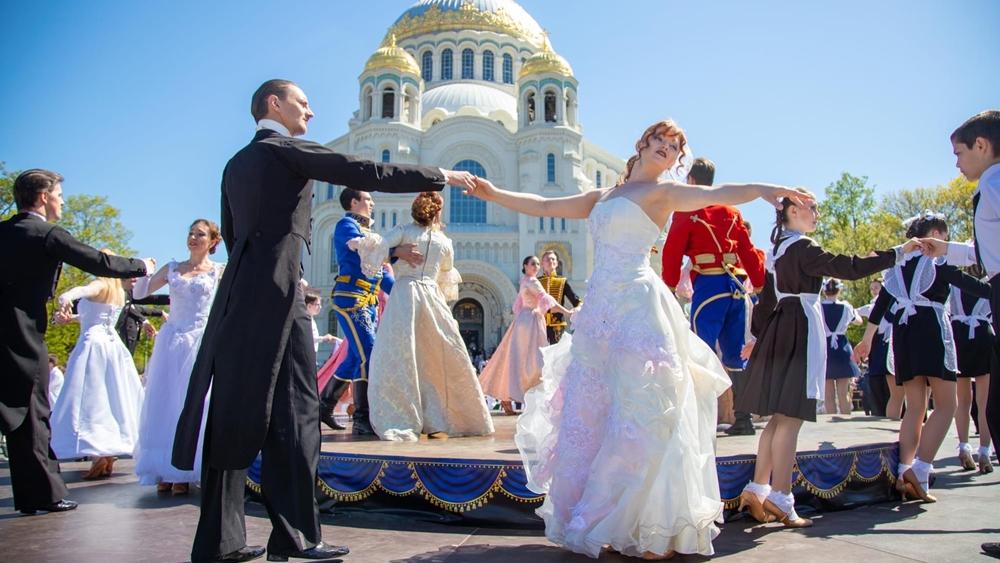 VI фестиваль танца «Кронштадтский вальс»