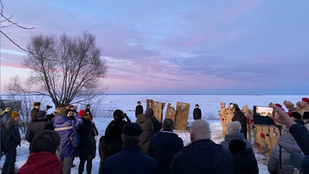 Открытие художественной инсталляции «Знак памяти Кронштадтского восстания 1921 года»