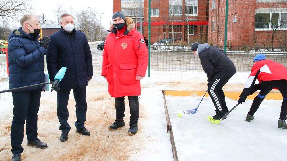 В Кронштадте отремонтируют восемь спортивных площадок