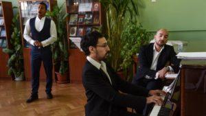 Вечер вокальной камерной музыки «Весеннее настроение» в Центральной библиотеке Кронштадта