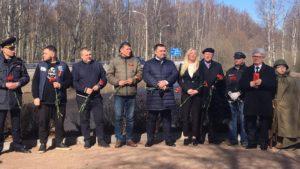 Акция «Сад памяти» прошла в Сестрорецке