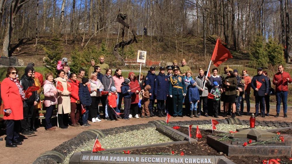 День Победы в поселке Ушково