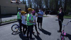 Завершился районный этап конкурса «Безопасное колесо»
