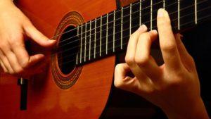 Концерт гитарной музыки в Зеленогорской библиотеке