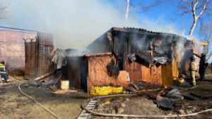 В апреле на территории Кронштадта произошло 11 пожаров