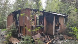Подразделения пожарной охраны Курортного района выезжали на вызовы 22 раза