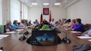 Ветераны Курортного района переизбрали состав Совета и комиссий