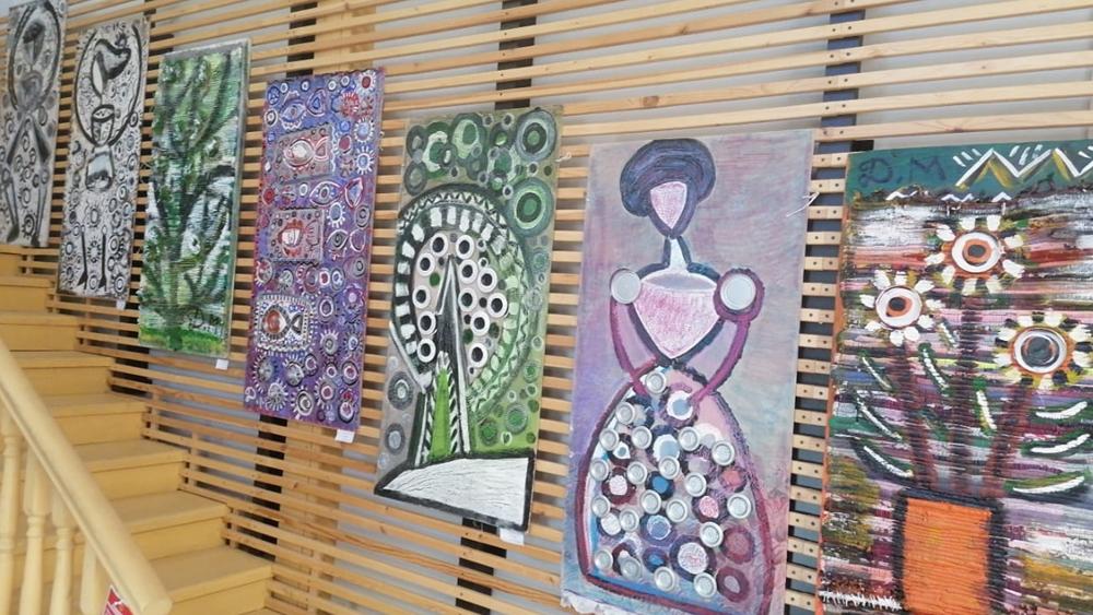 «О, Разлив! Мой Разлив!» Выставка Дарьи Мусиенко в библиотеке «Место под солнцем»