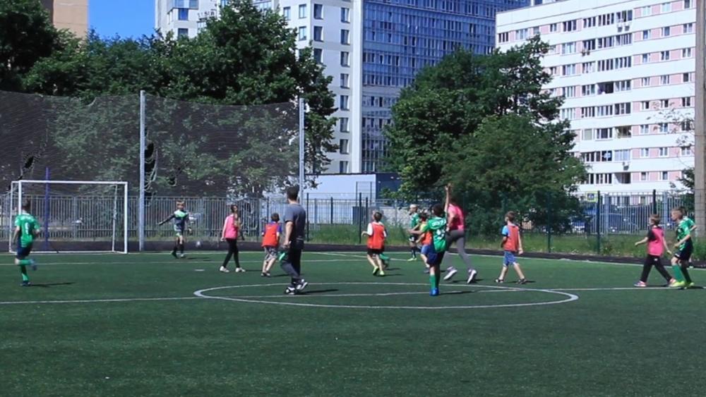 Футбольный праздник в 556 школе Сестрорецка