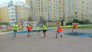 Центр спорта Курортного района приглашает на «Дворовые игры»