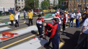 Кронштадтский центр реабилитации инвалидов провел турнир по мини-гольфу