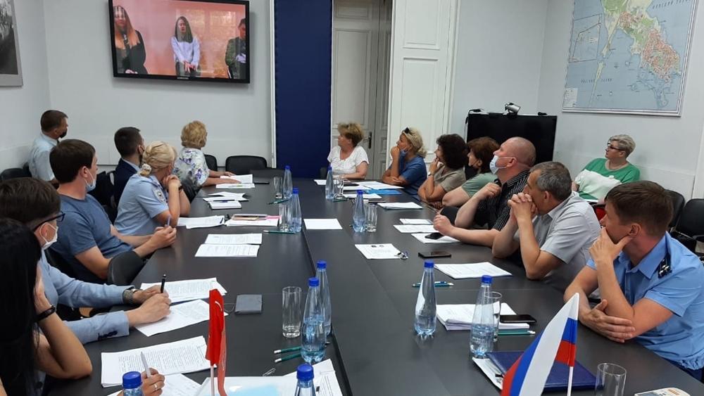 В Кронштадте прошло заседание антинаркотической комиссии