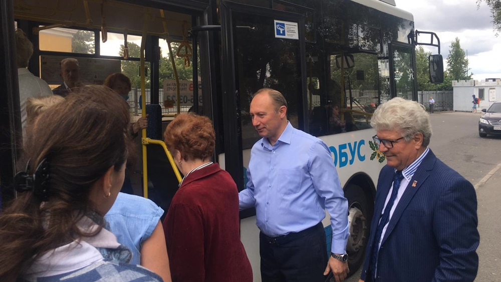 В Кронштадте восстановили автобусный маршрут №1Кр