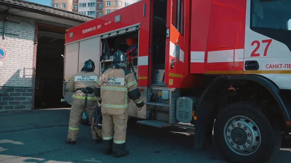 Пожарные Курортного района борются с огнем и… ложными вызовами
