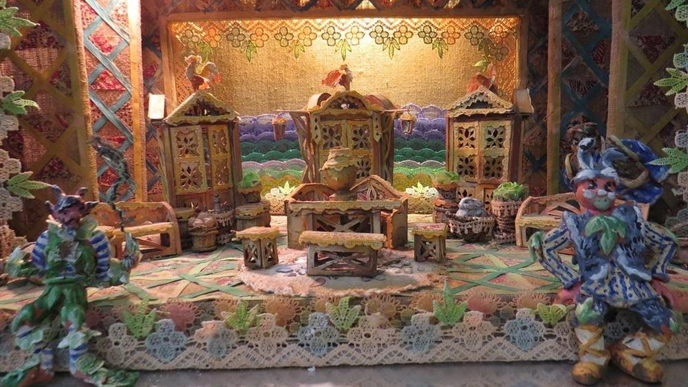 В Песочном открылась выставка «Сказка за сказкой и не только»