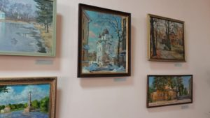 Выставка Валентина Скачкова в Кронштадте