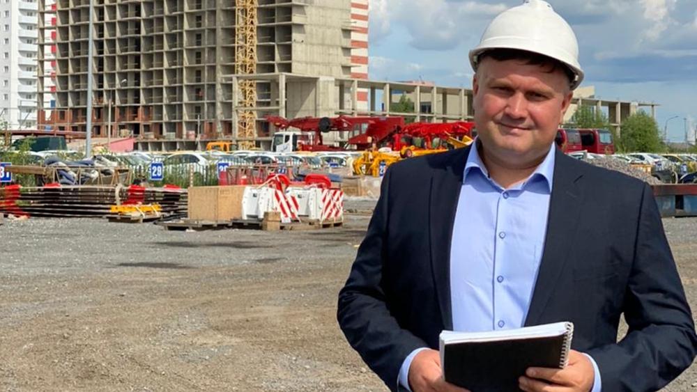 Алексей Шмелёв стал одним из ста финалистов всероссийского конкурса «Лидеры строительной отрасли»