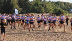 Завершается сезон Кубка Курортного района по бегу на песке