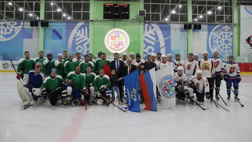 Завершился чемпионат по хоккею среди команд Курортного района