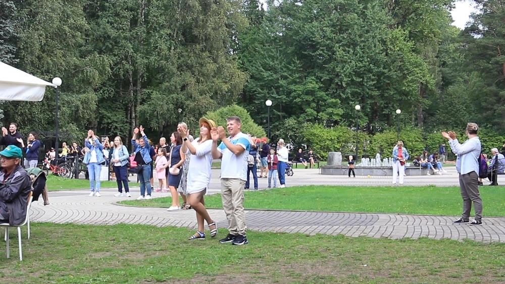Зеленогорский парк отметил свой День рождения