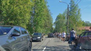 В поселке Солнечное организована новая схема дорожного движения