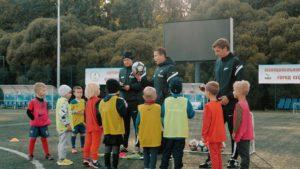 В Сестрорецке идет отбор воспитанников в филиал футбольной академии «Зенит»